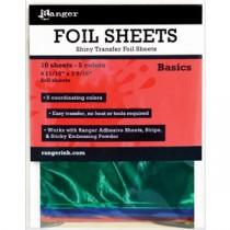 Ranger Shiny Transfer Foil Sheets Basics