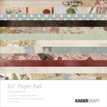 "Kaisercraft Pad 6.5""X6.5"" Cherry Tree Lane"