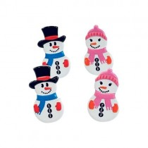 Brads Couple Bonhommes de neige