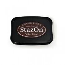 Encre StazOn Timber Brown