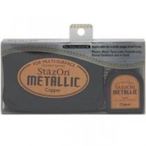 Encre StazOn Métalique cuivre