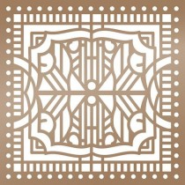 "Ultimate Crafts Stencil 6""X6"" Architecture"