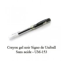 Signo Uni-Ball Noir