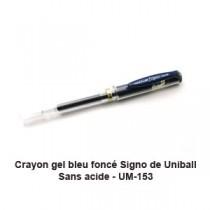Signo Uni-Ball Bleu Noir