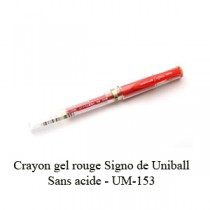 Signo Uni-Ball Rouge