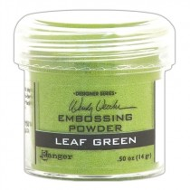 Poudre embossage Wendy Vecchi Leaf Green