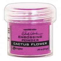 Poudre embossage Wendy Vecchi Cactus Flower