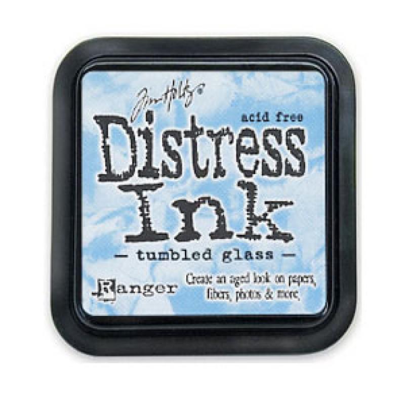 "Distress Ink Tumbled Glass"""