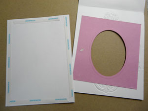 carte fait en scrapbooking avec spellbinders