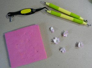 tutoriel de fleur scrapbooking