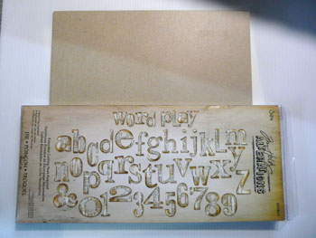 sizzix bigz xl alphabet die word play