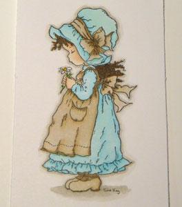 Sarah Kay Babette et Copic Sketch