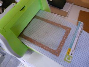 Spellbinders romantif rectangle et cuttlebug
