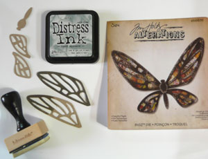 bigz fanciful flight de Tim Holtz