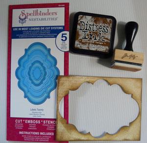 Spellbinders découpes Label 20