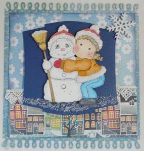 magnolia hiver décoration calendrier