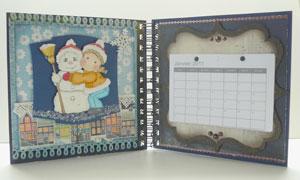 calendrier scrapbooking 2011 Herazz scrapbooking