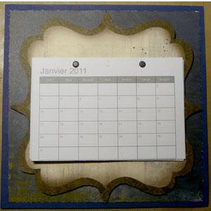 calendrier scrapbooking 2011