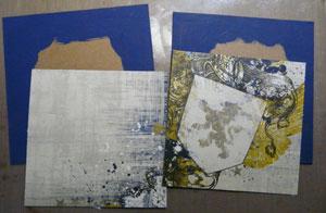 projet calendrier scrapbooking 2011