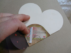 projet scrapbooking St-Valentin