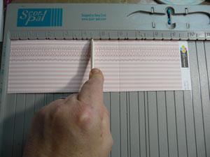 Score pal idéal pour faire des plis en scrapbooking