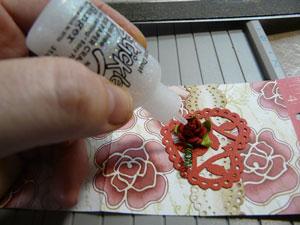 Stickles stardust pour ajouter une touche de brillance en scrapbooking