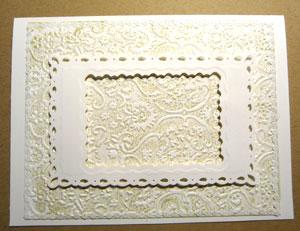 comment faire une carte scrapbooking mariage