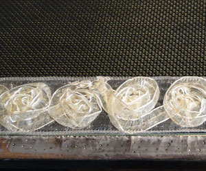 ruban scrapbooking rosette