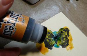 distress stain wild honey pour colorier