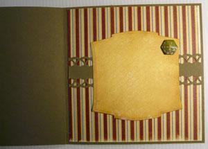 décoration intéreur de carte scrapbooking pour fête des pères