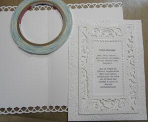 scrapbooking mariage