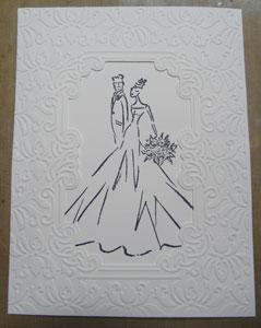 carte de mariés