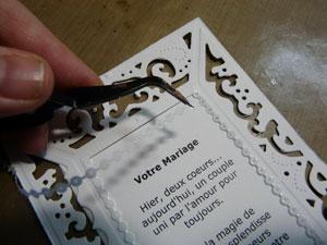 peel off flexible pour carte