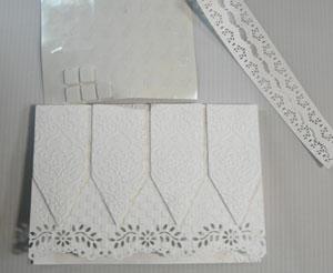 carte fête des mères en blanc