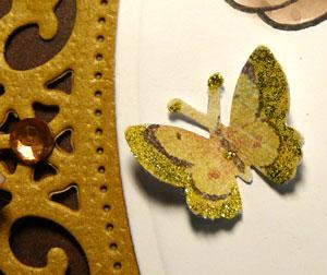 découpe papillon embellissement scrapbooking