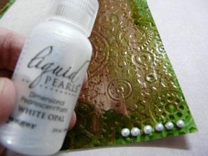 """Liquid Pearl """"White Opal"""" gouttes"""