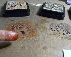 distress ink technique