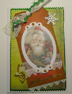 carte avec image crafty secrets