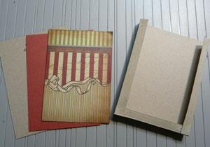 enveloppe cadeau scrapbooking