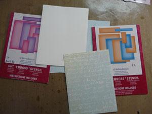 spellbinders A-2 Matting Basics A et Basics B Card Creator