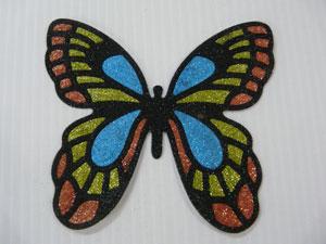 papillon en glitter