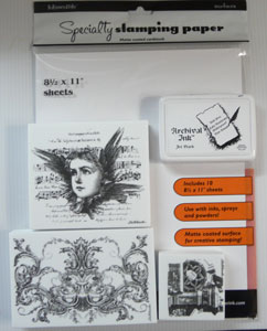 Papier Inkssentials Specialty Stamping Paper