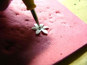 technique pour faire des fleurs
