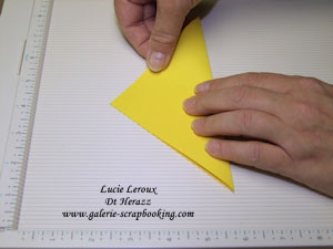 Faire une carte pyramide