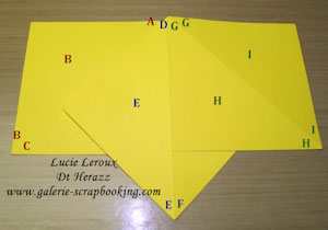 Modèle de carte pyramide, tutoriel