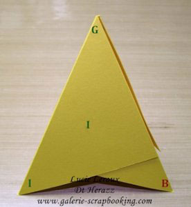 Comment faire une carte pyramide