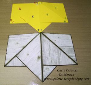Montage carte pyramide