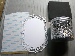Cosmic shimmer silver dream