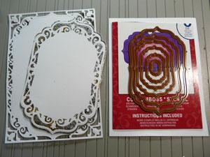 Spellbinders Labels 4 - Carte Mariage Herazz