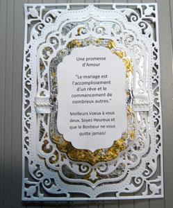 Carte Herazz - Tutoriel carte Mariage
